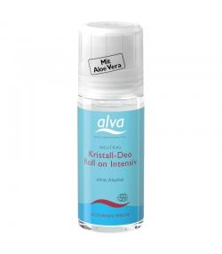Déodorant à bille cristal intensif BIO pierre d'alun & aloe vera - 50ml - Alva