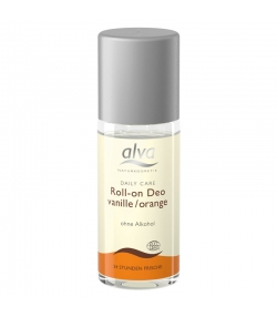 Déodorant à bille BIO vanille & orange - 50ml - Alva