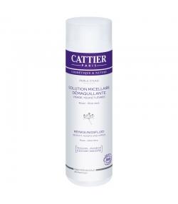 Solution micellaire démaquillante visage, yeux & lèvres BIO rose & aloe vera - 300ml - Cattier