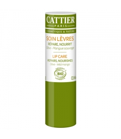 Soin lèvres BIO olive & mangue sauvage - 4g - Cattier