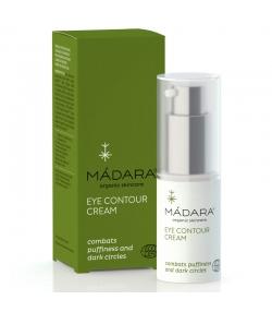Crème contour des yeux raffermissante BIO persil, concombre & marronnier - 15ml - Mádara