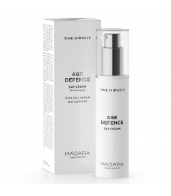 Age Defence BIO-Tagescreme Birke - 50ml - Mádara Time Miracle
