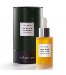 Huile de beauté visage hydratante & apaisante BIO 8 huiles - 30ml - Mádara