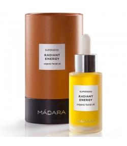Huile de beauté visage énergie radieuse BIO 9 huiles - 30ml - Mádara