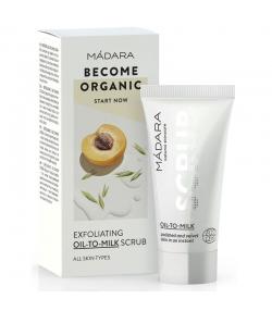 Huile-en-lait exfoliante BIO abricot & avoine - 12,5ml - Mádara