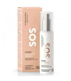 Crème hydratante redynamisante SOS BIO lin, pivoine & acide hyaluronique - 50ml - Mádara