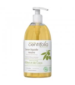 Savon liquide neutre BIO mauve & guimauve - 500ml - Centifolia