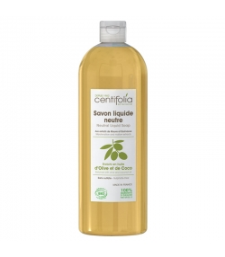 Savon liquide neutre BIO mauve & guimauve - 1l - Centifolia