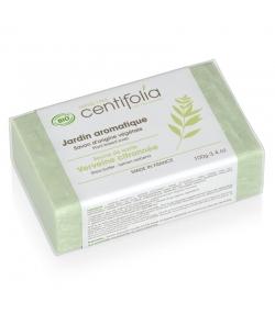 Savon jardin aromatique BIO beurre de karité & verveine citronnée - 100g - Centifolia