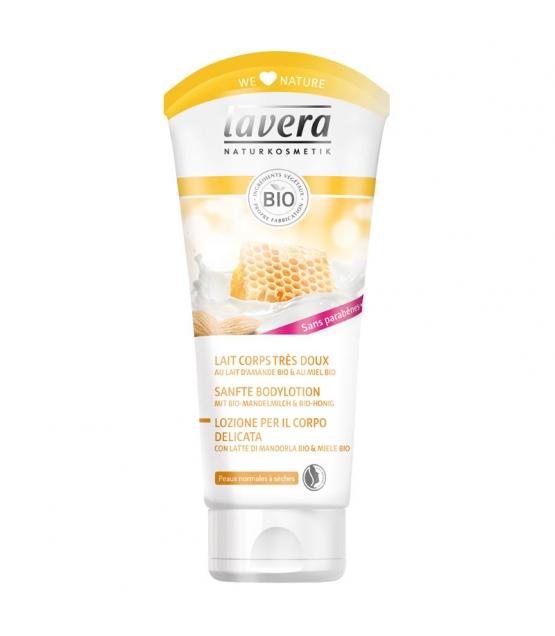 Lait corps très doux BIO lait d'amande & miel - 200ml - Lavera