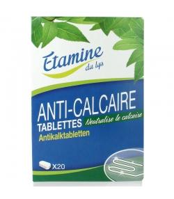 Tablettes anti-calcaire écologique – 20 tablettes – Etamine du lys