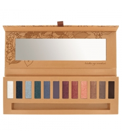 Palette 12 ombres à paupières BIO Eye essential 2 - 12x0,8g - Couleur Caramel