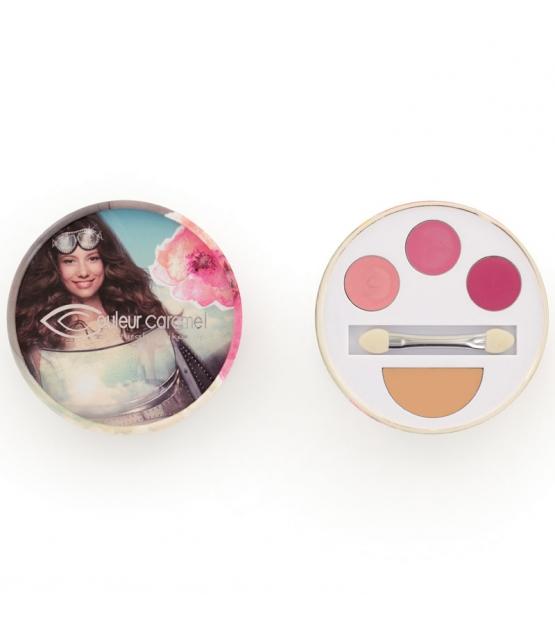 Kit flash makeup BIO N°33 Rosy - 3,85g - Couleur Caramel