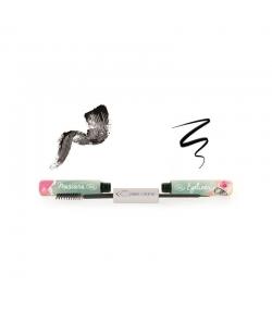 Duo mascara & eyeliner BIO N°68 Noir - 7ml - Couleur Caramel