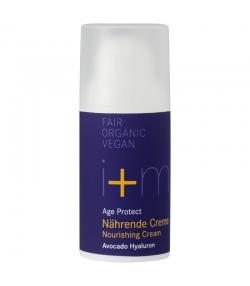 Crème nourissante BIO avocat & acide hyaluronique - 30ml - i+m Naturkosmetik Berlin Age Protect