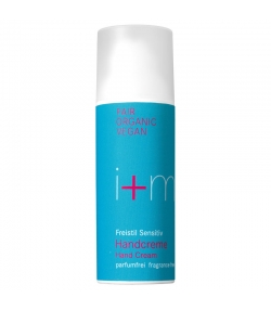 BIO-Handcreme parfumfrei Aloe Vera, Jojoba & Mandel - 50ml - i+m Naturkosmetik Berlin Freistil Sensitiv