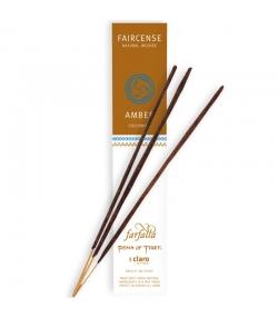 Amber Cocooning Faircense-Räucherstäbchen - 10 Stück - Farfalla