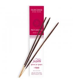 Bâtons d'encens Faircense Patchouli Dream of Asia - 10 pièces - Farfalla