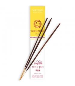 Vanille-Benzoe Good Luck Faircense-Räucherstäbchen - 10 Stück - Farfalla