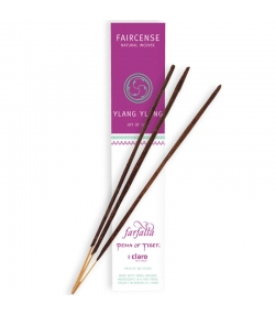 Bâtons d'encens Faircense Ylang Ylang Joy of Life - 10 pièces - Farfalla