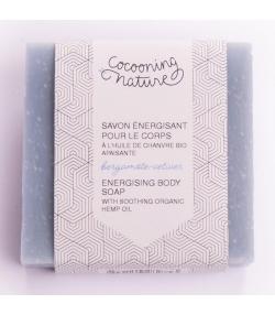 Savon naturel énergisant pour le corps homme bergamote & vétiver - 90g - Cocooning Nature