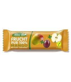 Barre 100% pur fruit mangue BIO - 30g - Allos