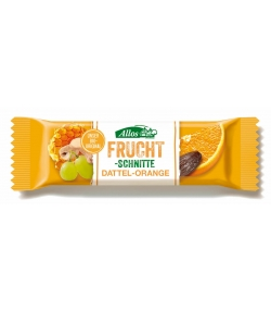 Dattel-Orange BIO-Fruchtschnitte - 30g - Allos