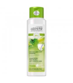 Shampooing fraîcheur & anti-cheveux gras BIO mélisse citronnelle & menthe - 250ml - Lavera Hair
