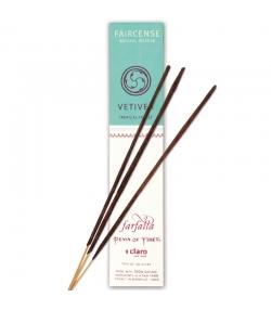 Bâtons d'encens Faircense Vetiver Tropical Forest - 10 pièces - Farfalla