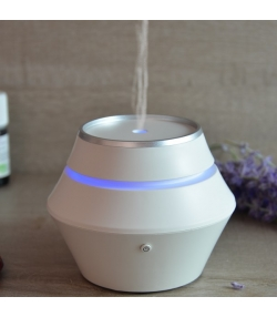 Diffuseur électrique d'huile essentielle par ultrason - Siera Blanc - Zen Arôme