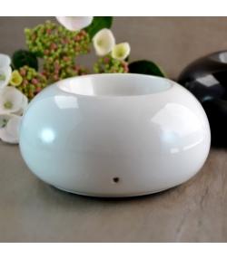 Diffuseur électrique d'huile essentielle par chaleur douce - Cozy Blanc - Zen Arôme