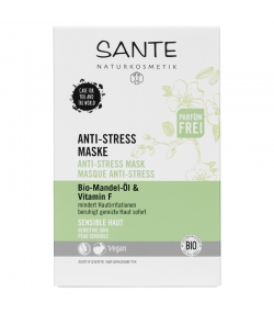 Anti-Stress BIO-Maske Mandel & Vitamin F - 8ml - Sante