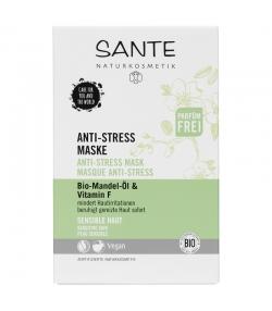 Masque anti-stress BIO amande & vitamine F - 8ml - Sante