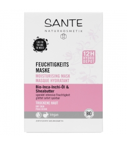 Masque hydratant BIO inca inchi & beurre de karité - 8ml - Sante