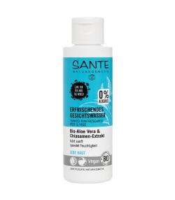 Erfrischendes BIO-Gesichtswasser Aloe Vera & Chia - 125ml - Sante
