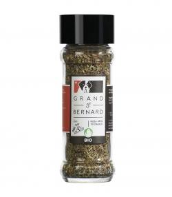 Assaisonnement aux herbes aromatiques BIO pour pizza et pâtes – 25g – Grand-St-Bernard