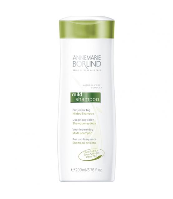 Mildes BIO-Shampoo Ahornsirup & schwarzer Hafer - 200ml - Annemarie Börlind Seide Natural Hair Care