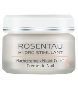 Crème de nuit BIO rose & achillée millefeuille - 50ml - Annemarie Börlind Rosentau