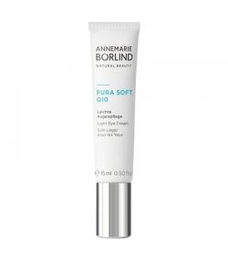 Soin léger pour les yeux naturel coenzyme Q10 & prêle des champs - 15ml - Annemarie Börlind Pura Soft Q10