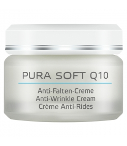 BIO-Anti-Falten-Creme Coenzym Q10 & Vitamin E - 50ml - Annemarie Börlind Pura Soft Q10