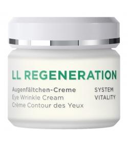 Crème contour des yeux naturelle LL-complexe & euphraise - 30ml - Annemarie Börlind LL Regeneration