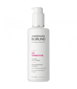 Émulsion nettoyante douce naturelle complexe pré- & probiotique - 150ml - Annemarie Börlind ZZ Sensitive