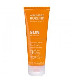 Crème solaire anti-âge BIO IP 30 argousier & panthénol - 75ml - Annemarie Börlind Sun Anti Aging