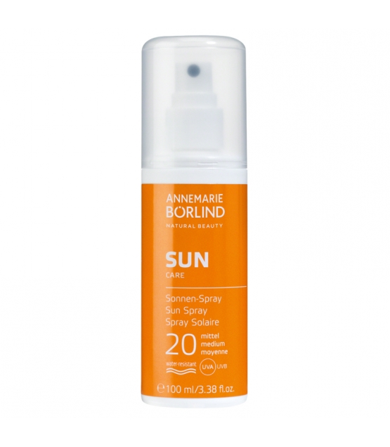 BIO-Sonnen-Spray LSF 20 Panthenol - 100ml - Annemarie Börlind Sun Care
