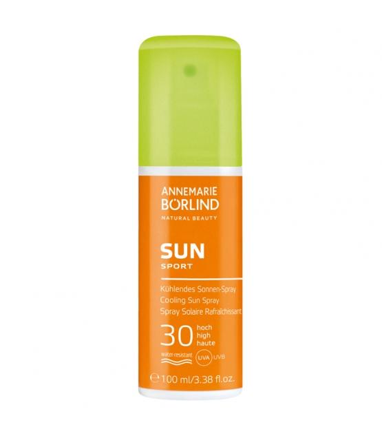 Spray solaire rafraîchissant BIO IP 30 panthénol - 100ml - Annemarie Börlind Sun Care