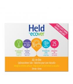 Tablettes lave-vaisselle écologiques citron - 30 tablettes - Held eco