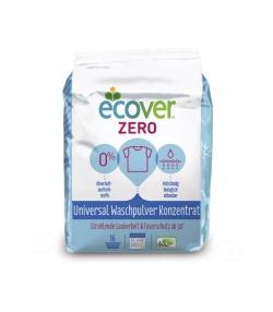 Lessive poudre écologique universelle Zero sans parfum & sans colorant - 16 lavages - 1,2kg - Ecover