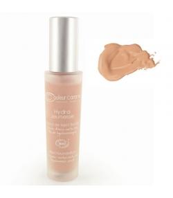BIO-Flüssig-Make-up Hydra Jeunesse N°24 Sand - 30ml - Couleur Caramel
