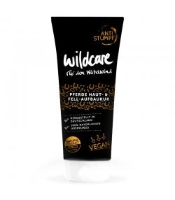 Cure renforcée pour la peau et le pelage du cheval BIO soja & aloe vera - Redonne de la brillance - 200ml - Wildcare