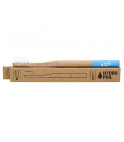 Brosse à dents en bambou Bleu Extra-Soft Nylon - 1 pièce - Hydrophil